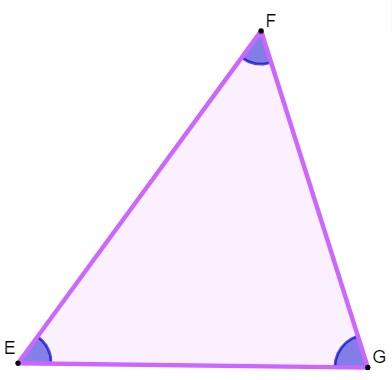 Triângulo acutângulo