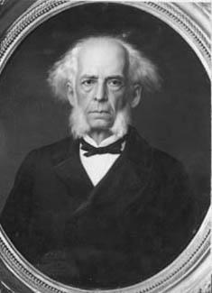 """Visconde de Abaeté"", fotografia de Karl Ernest Papf (1833-1910)."