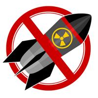 Proibido bomba atômica
