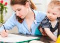 Estudante com filho