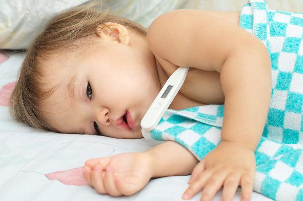 A febre é um sintoma de que algo não está bem com nosso corpo.