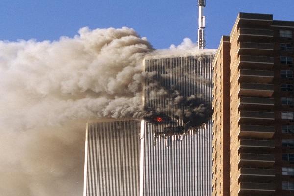 O World Trade Center foi o primeiro alvo dos terroristas durante os atentados de 11 de setembro.[1]