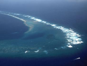 Imagem do Oceano Pacífico