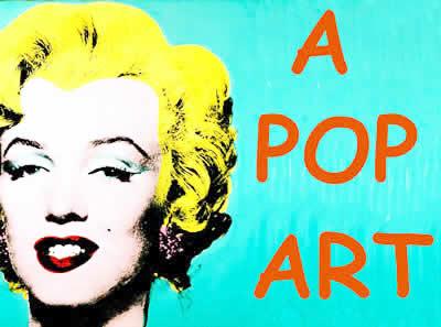 A Pop Art é um movimento interessado na desconstrução dos ícones reconhecidos pela sociedade industrial.