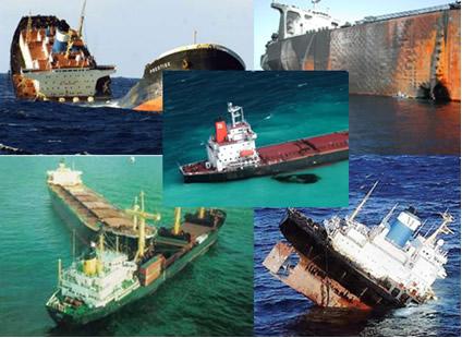 Acidentes marítimos com superpetroleiros