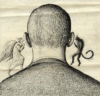 Em sentido psicológico, a consciência é a percepção do eu por si mesmo