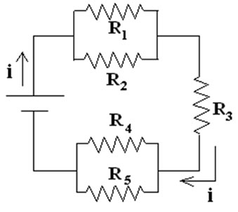 Circuito elétrico misto