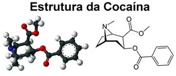 Estrutura da cocaína