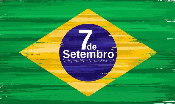 O 7 de setembro é uma data comemorativa que relembra a declaração de independência do Brasil, realizada em 7 de setembro de 1822.