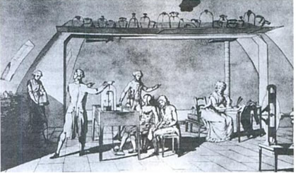 Laboratório químico de Lavoisier