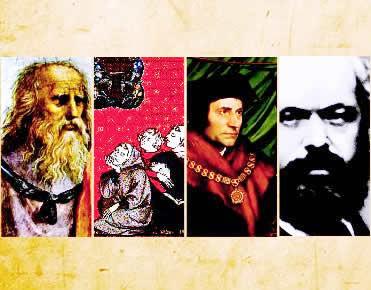 O comunismo foi pensado de diferentes formas ao longo do tempo.