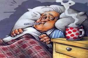 Os sintomas da gripe s�o mais incapacitantes que os do resfriado.
