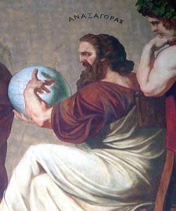 Anaxágoras - Afirmou que a natureza é eterna e por isso não pôde ser nem criada e nem pode ser destruída