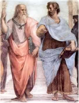Platão e Aristóteles - Idéias divergentes sobre a arte