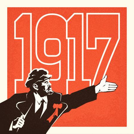 Figura de Vladmir Lenin, principal líder da revolução de 1917