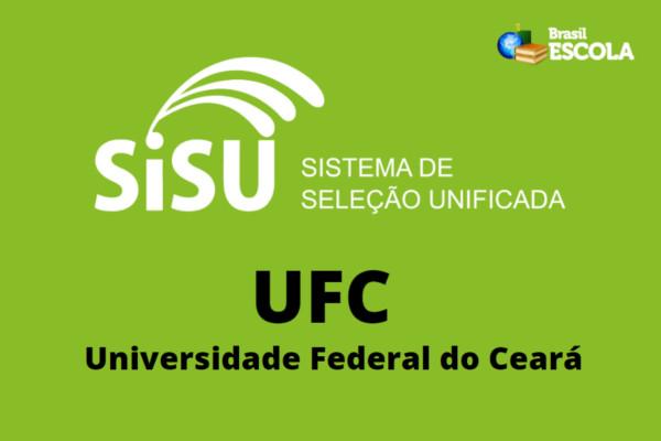 As vagas oferecidas pela UFC através do SiSU destinam-se somente a uma das edições do Sistema.