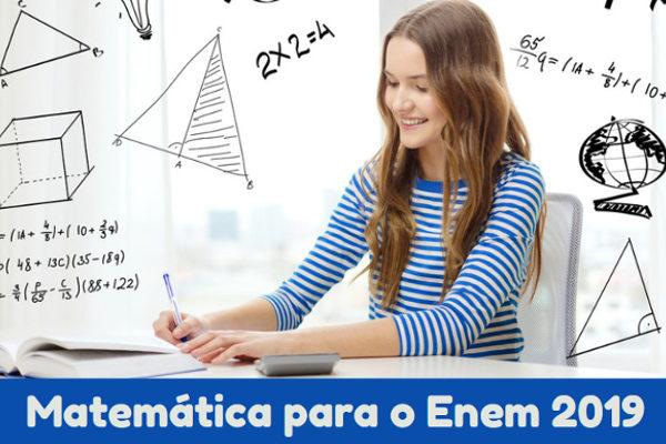 Mandar bem na prova de matemática pode fazer toda diferença na média final da sua nota do Enem