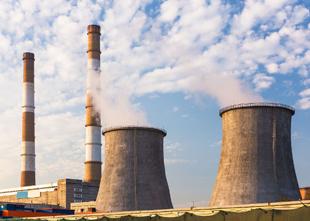 usina de energia térmica