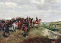 Ilustração do exército napoleônico em Solferino, na Itália