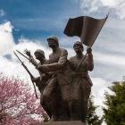 Monumento dedicado aos soldados turcos que lutaram na guerra