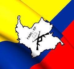 Bandeira das forças armadas revolucionárias da Colômbia