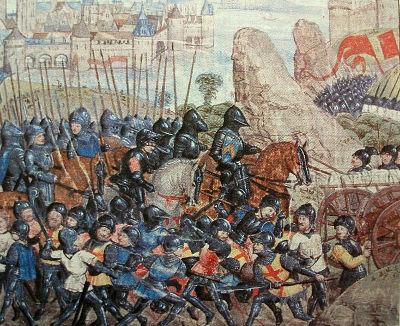 Pintura do Cerco de Calais