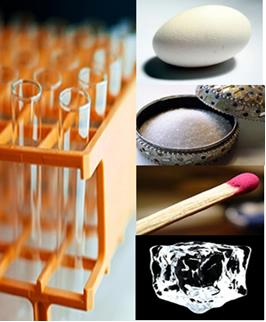 Alguns materiais para o experimento