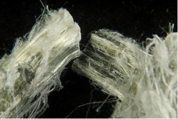 Fibras de amianto ou asbesto