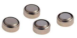 As pilhas de mercúrio são bem pequenas