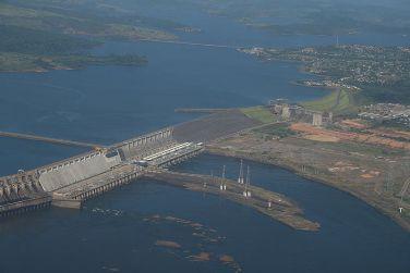 Imagem aérea da Hidrelétrica do Tucuruí, no Pará.¹