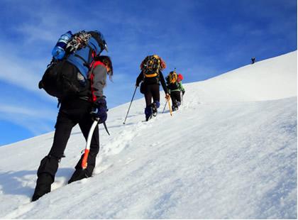 Subir uma montanha é uma situação que pode desencadear uma alcalose respiratória
