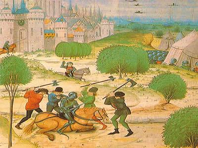 Camponeses massacrando um nobre