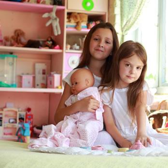 Os brinquedos criados para as meninas podem estimular a maternidade