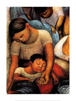 Conectado com as causas sociais no México, Diego Rivera produziu diversos murais retratando as desigualdades em seu país