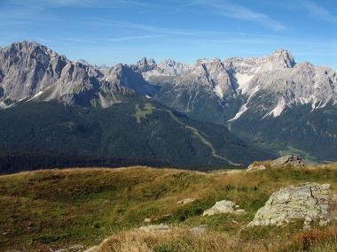 Os Alpes, na Europa, formam uma cadeia de montanhas