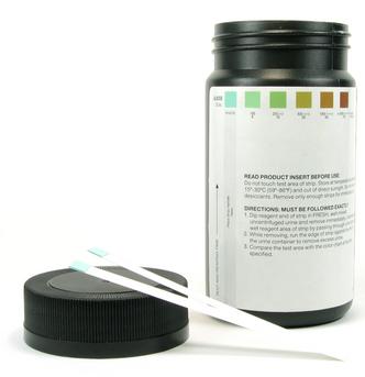 O reativo de Benedict é usado para determinar o teor de glicose na urina