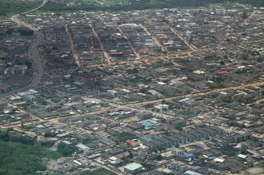 A cidade de Lagos, na Nigéria, deverá ser a maior área urbana da África nos próximos anos