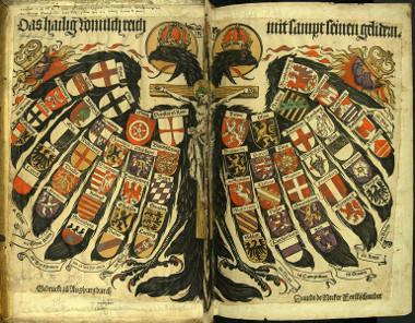 Brasão de armas do Sacro Império Romano-Germânico *