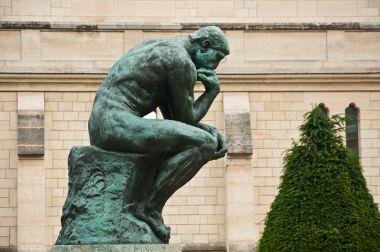 """""""O Pensador"""", de Rodin, veio a público no ano de 1888"""