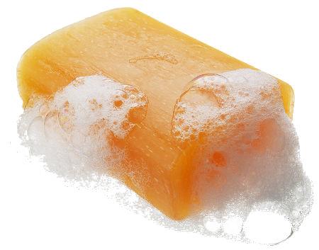 Sabão em barra ainda é muito utilizado em lavagens de vasilhas, por exemplo