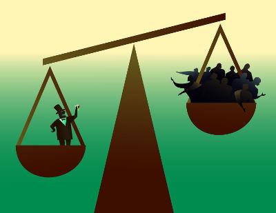 O crescimento da burguesia representou a máxima expressão das desigualdades socioeconômicas