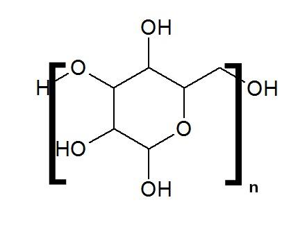 Estrutura química da Maltodextrina