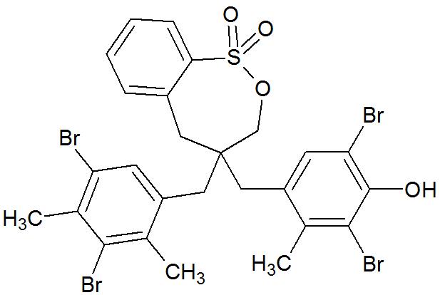 Fórmula estrutural da albumina