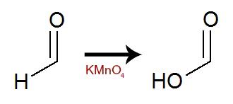 Equação representando a formação da carboxila a partir da carbonila
