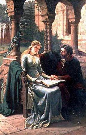 Abelardo e Heloísa: casal marcado pela relação proibida
