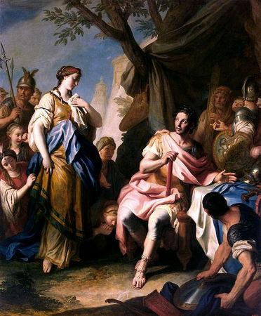 O imperador Alexandre Magno desposou uma nobre persa chamada Roxane