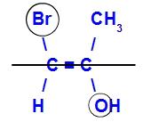 Exemplo de um isômero E