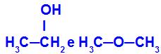Substâncias diferentes que apresentam a mesma fórmula molecular