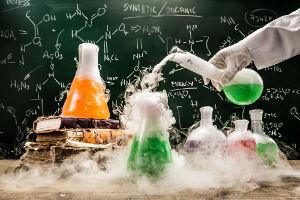 Experimentação realizada em laboratório