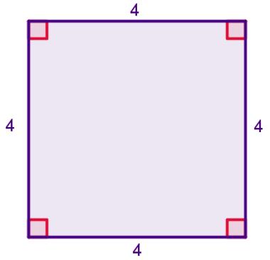 Exemplo de quadrado